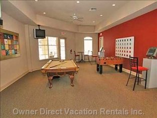 Terrace Ridge Clubhouse Games Room