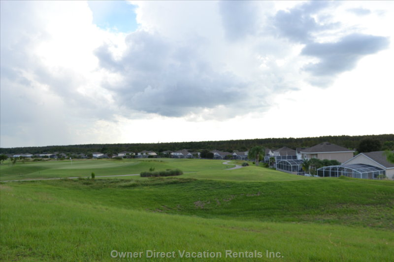 View of Golf Course from Property