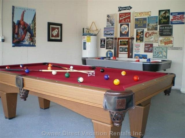 Games Room Ideal for those Relaxing Days in the Villa