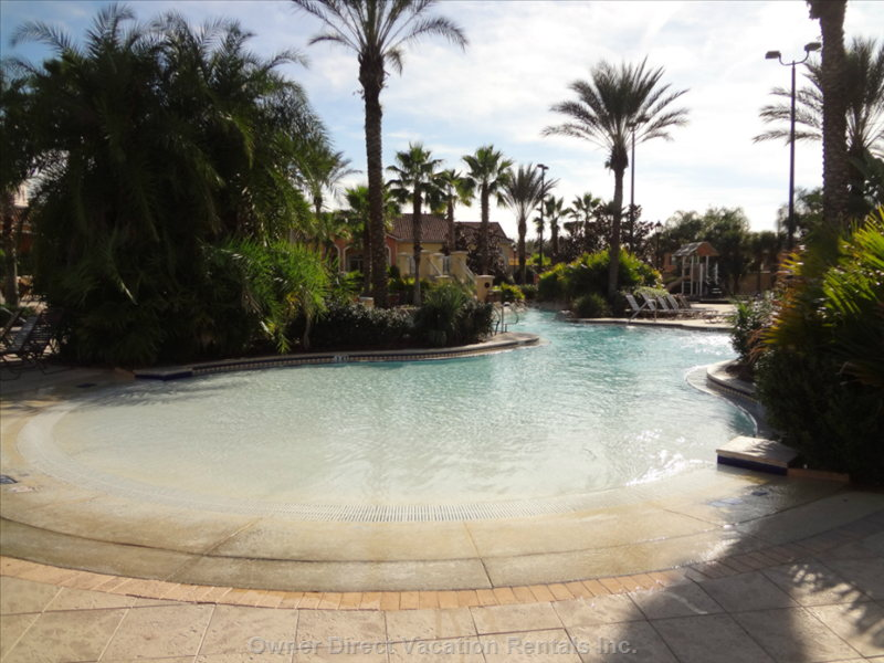 Heated Wading Pool - Water Park at Regal Palms Resort & Spa