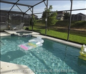 Screened Pool and Spa