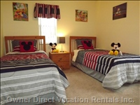 Disney Twin Room
