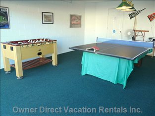The Games Room - you Can Have Table-tennis Instead of Pool If you Prefer