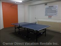 Hobby Ping Pong Room