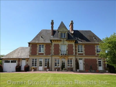 A Lovely Mansion of Character on a 30 Acres Hilly Property with Paddocks and 6 Polo Ponies on Retirement.