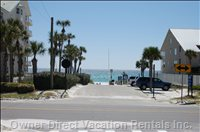 World Famous Destin Beaches Await You. - Photo of your Beach Access - you'RE Only 3 Houses from Here!