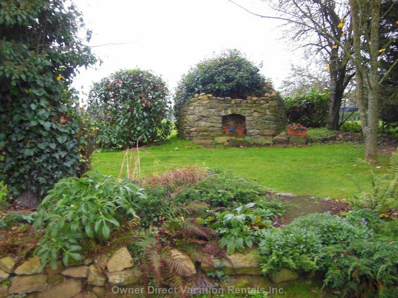 Old Features to Explore in the Large Garden Areas Such as this Ancient Bread Oven
