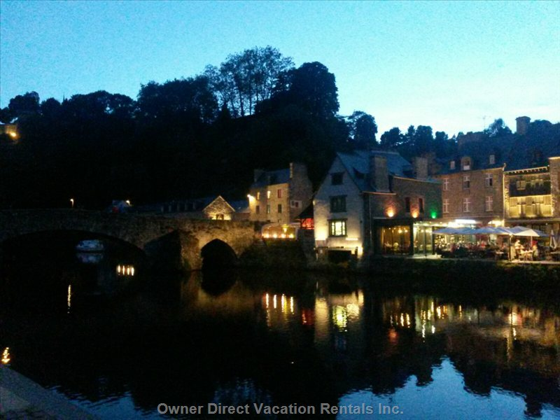 Port of Dinan: 20 Minutes from House