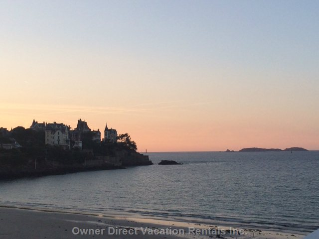 Dinard Beach Sunset
