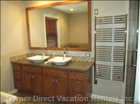Master Ensuite with Heated Towel Rack - Master Ensuite