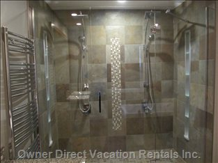 Awesome Double Shower!