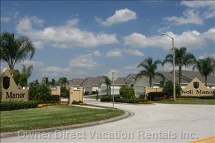 Located in a Small, Secure Gated Community