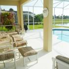 Stunning Lake Front Pool Terrace with Lanai Pool Spa & Bbq