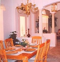 Dining Room for those Luxury Moments