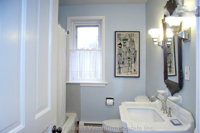 Full Bathroom Renovated Including Tub and Shower and Large Closet.