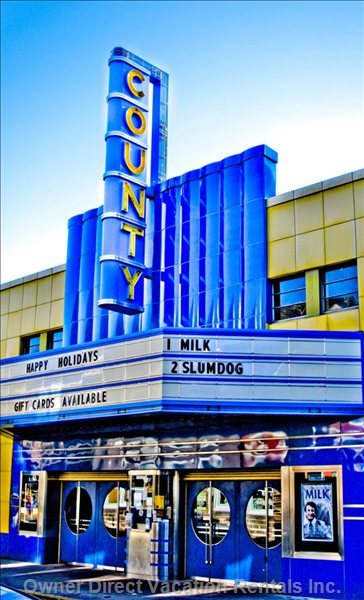 The County Theater - Movie Theater - a Community Theater Providing Great Movies, Art, Foreign Films & Events to Doylestown since 1938