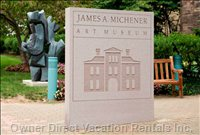 Famous Art Mitchener Art Museum Hosting an International Touring Exhibit. James Albert Michener American Author of more than 40 Titles.