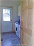 Mud Room with Washer, Dryer, Sink, Units, Etc.