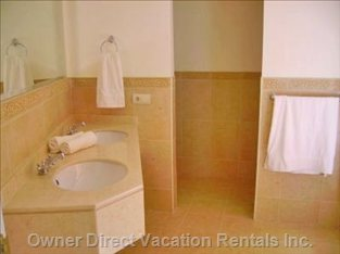 Bathroom with Bath and Bidet - Similar to, but May Not be Exact Unit.