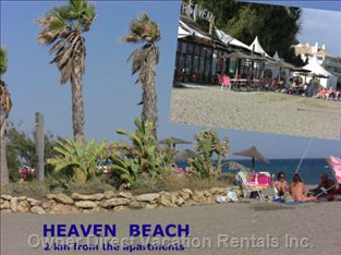 Heaven Beach is 1,5 KM Away from the Apartment  - the Great Beach Bar is 1,5 KM Away from the Apartment with Big Entertainment and Music