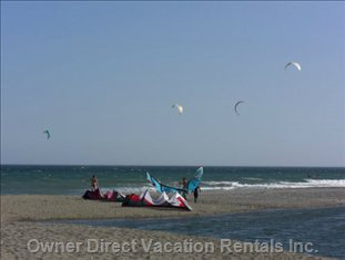 Heaven Beach - Kite Surf and Surfing at Heaven Beach is a Big Fun