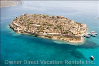 "Spinalonga Islet, Inspiration for Victoria Hislop's Best Seller, ""the Island"""