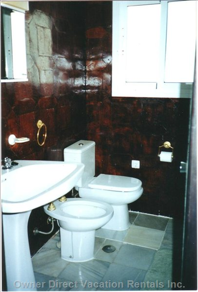 Upstairs Bathroom - Bidet is no Longer is this Bathroom.