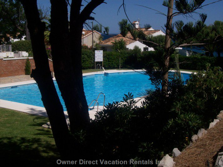 Large Shared Pool and Kiddie's Splash Pool with Plenty of Shaded Areas for that Cheeky Siesta!