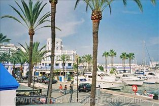 The Beautiful Port of Estepona