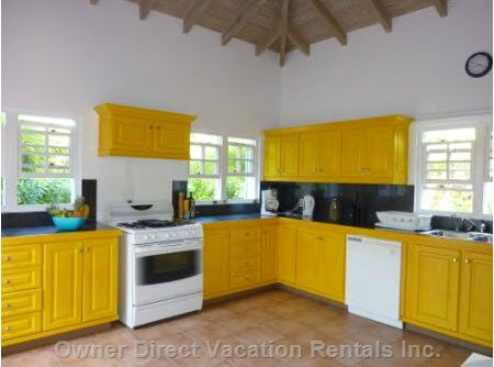 Bright and Sunny Kitchen