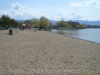 Rotary Beach on Lake Okanagan