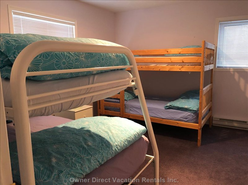 Bunk Room #2 - with Two Sets of Bunk Beds