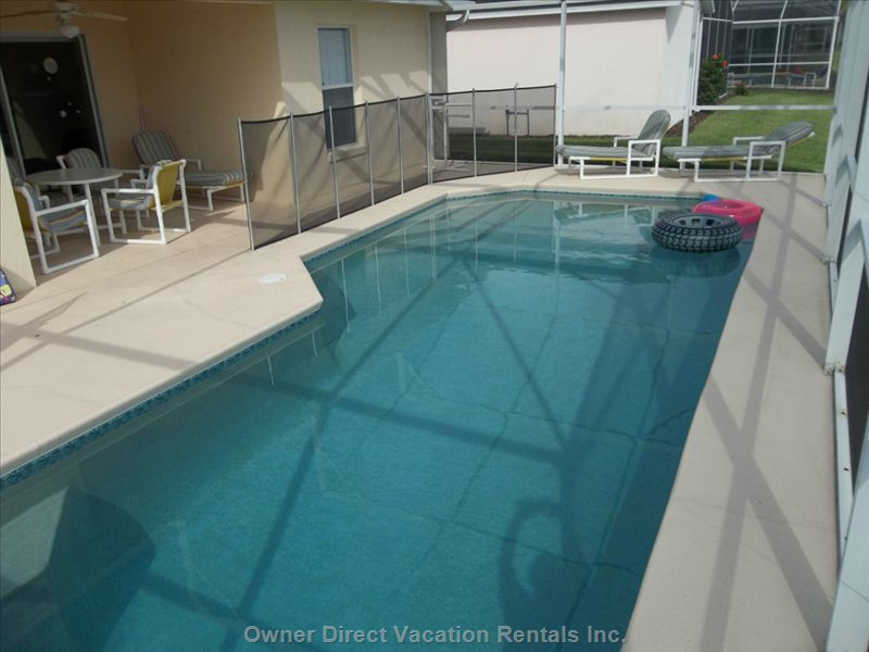 Enjoy a Dip in your Private 15' X 30' Pool!