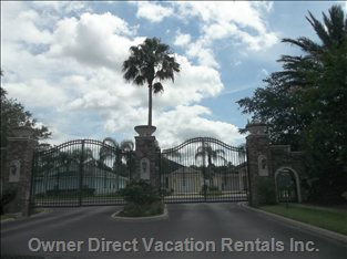 Reserve at Town Center Gated Entrance