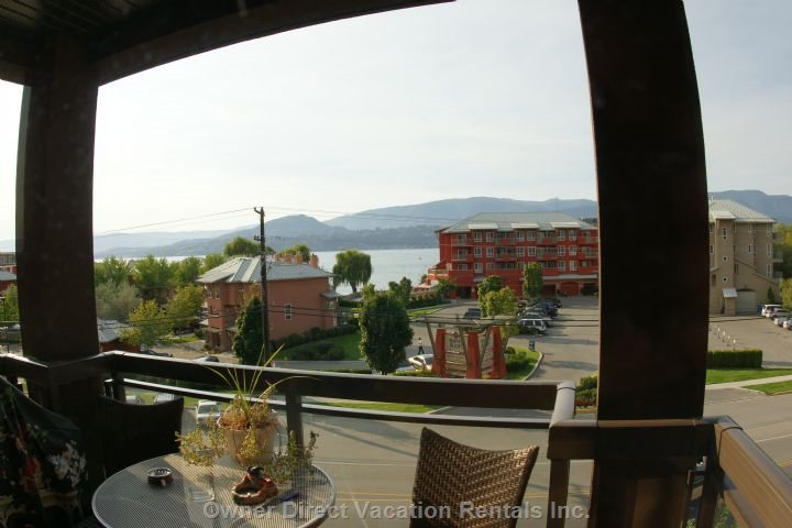 View Towards Lake Okanagan (Not Taken from Unit)