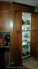 Lots of Pantry Space for Food Storage