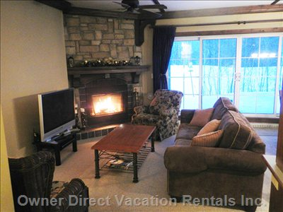 Les Manoirs Offers some of the Largest 1-Bedroom Condos in the Resort - over 740 Square Feet
