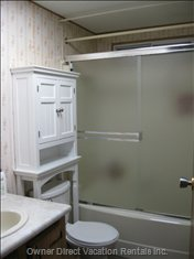 Main Bath. There is Also a Master Bedroom Ensuite Bath with Soaker Tub/no Shower.