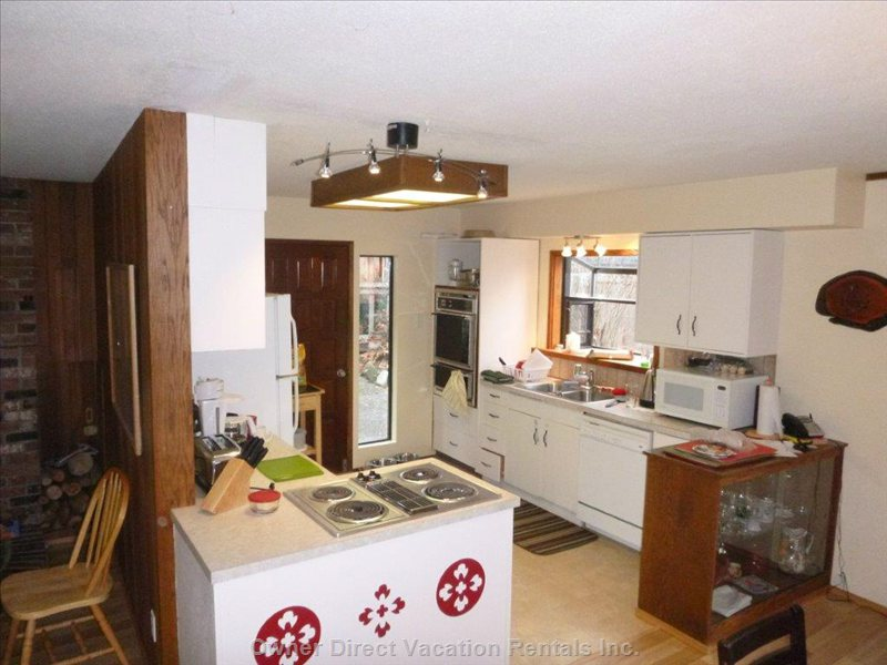 Bright well Equipped Kitchen