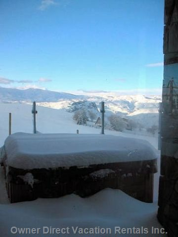 Jacuzzi with a View (after Snow) .