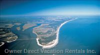 Amelia Island from above