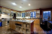 Kitchen  - Massive Commercial Kitchen for Self-Catering Or Partial Or Full Catering