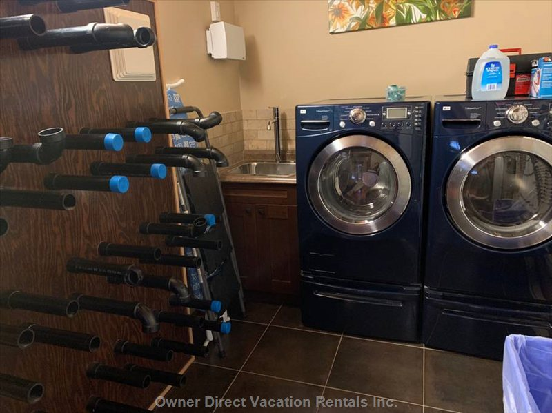 Ensuite Washer/Dryer | Boot Drying Area