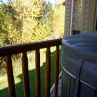 Balcony with Hot Tub and Gas Bbq