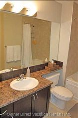 Master Ensuite is a Four Piece Washroom