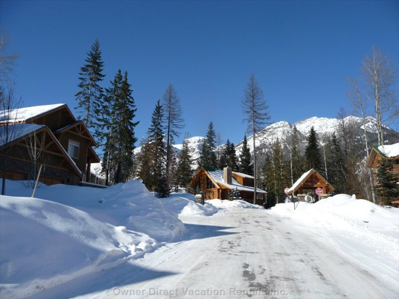 Driving directions to fernie owner direct vacation for Fernie cabin rentals