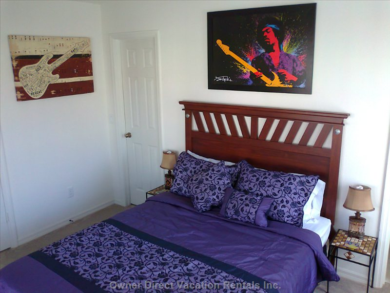 Fiesta key vacation rentals kissimmee accommodations owner direct Master bedroom upstairs or downstairs