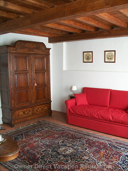 The Armchair and the Double Sofa Bed