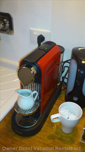 The Nespresso Coffee Machine