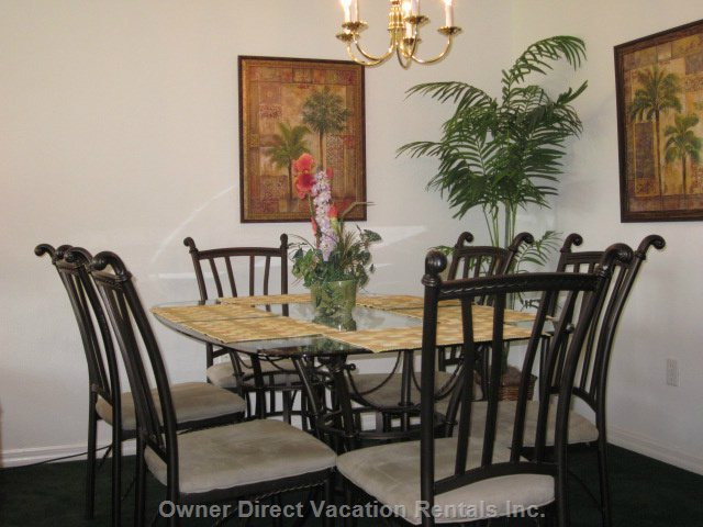 Dining Room with Six Chairs